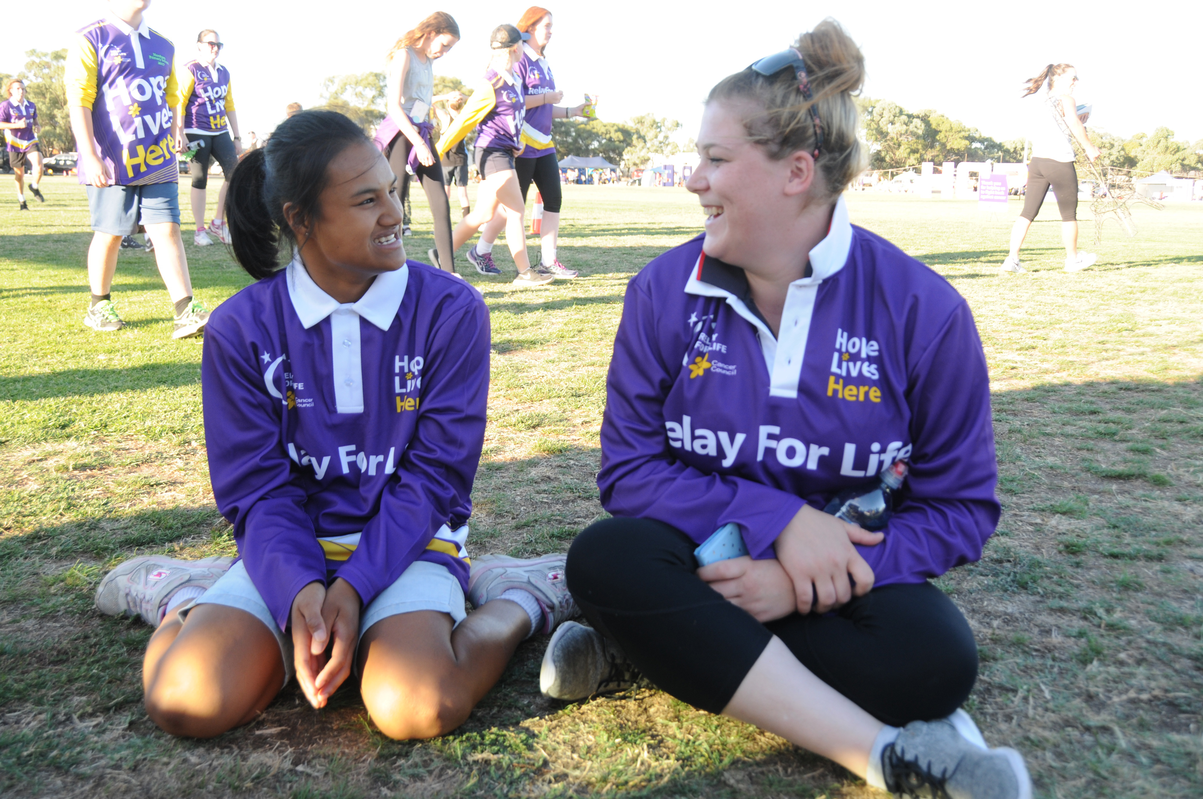 Image - Horsham and District Relay for Life, 170317. Wimmera Uniting Care team