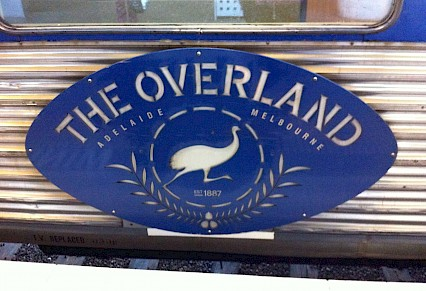 Overland train saved